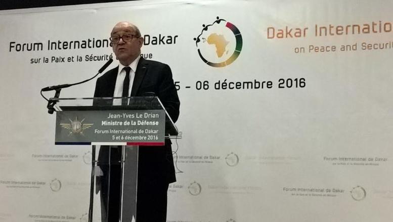 Forum Paix/Sécurité de Dakar: Jean Yves le Driand exhorte les pays participants à la mise en œuvre des recommandations
