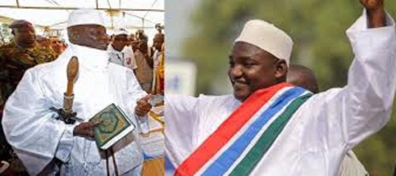 """""""Nous irons au Palais en Janvier"""", président Adama Barrow"""