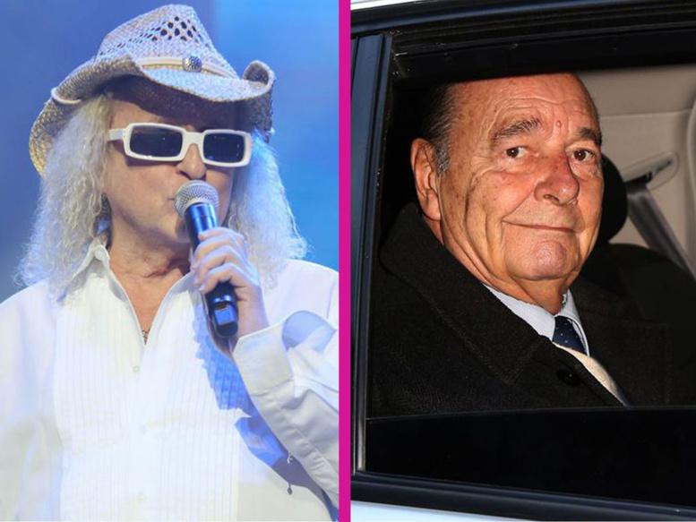 """Michel Polnareff toujours """"sous oxygène"""", Jacques Chirac """"est beaucoup mieux"""""""