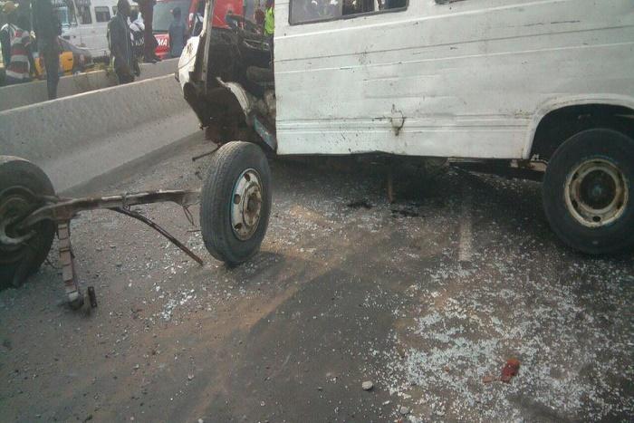 Urgent/Colobane : 1 mort et plusieurs blessés dans un accident de la route