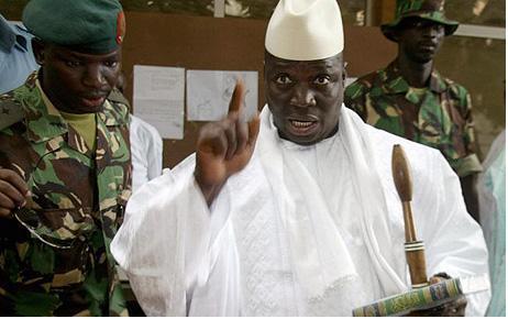 «Si la CEDEAO intervient dans le pays de mes ancêtres, la Gambie sera le cimetière de vos soldats», avertit Yaya Jammeh
