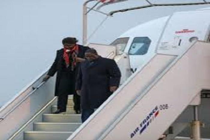Visite officielle en France : Le Président de la République est arrivé ce soir à Paris