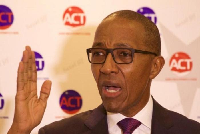 Bureau politique d'ACT : Abdoul Mbaye sort les carences du pouvoir