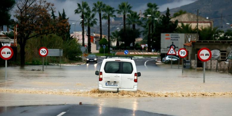 Espagne : de fortes intempéries font trois morts dans l'est