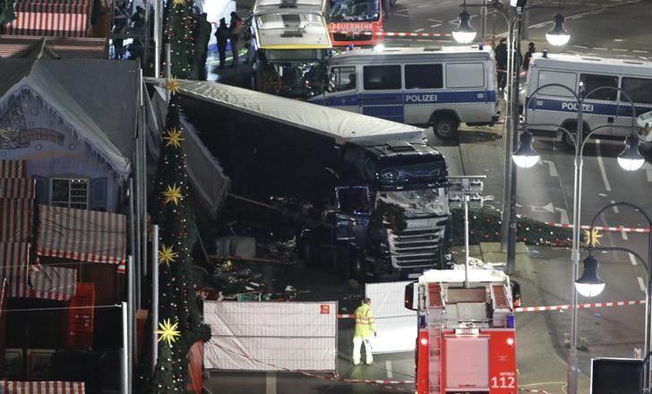 Camion fou à Berlin : 12 morts et 48 blessés