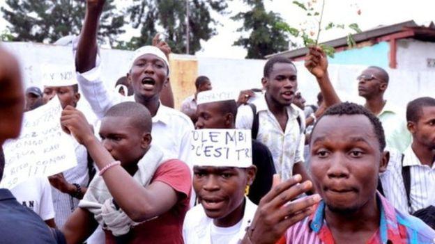 RDC : 18 militants de Lucha arrêtés