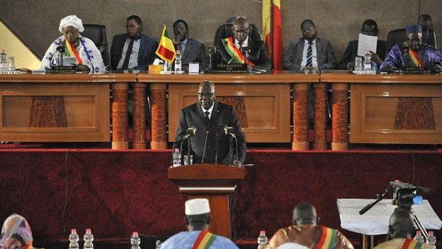 Mali : rejet d'une motion de censure