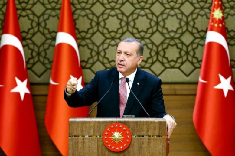 Erdogan accuse l'Occident de soutenir le groupe terroriste État islamique