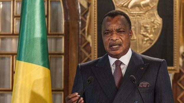 Sassou Nguesso à la table de Donald Trump — Congo