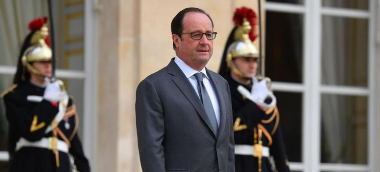François Hollande, les derniers vœux d'un président libéré