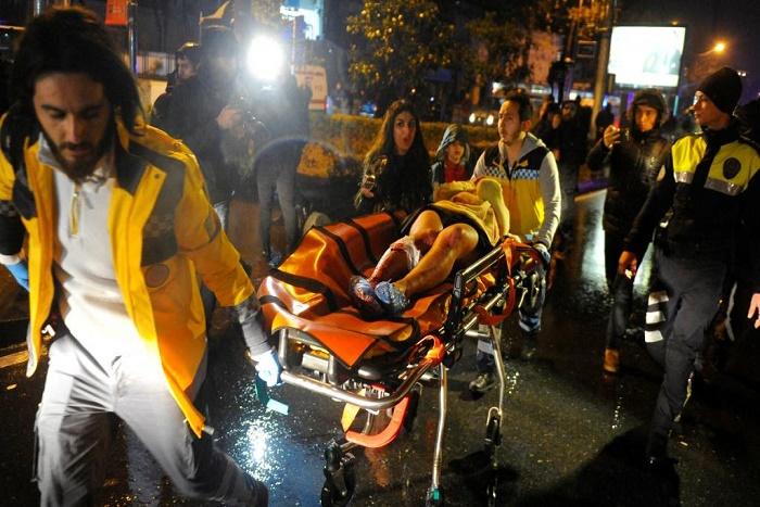 Attaque d'une discothèque à Istanbul en Turquie: au moins 39 morts et 69 blessés