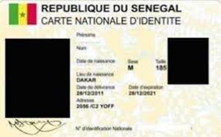 La carte d'identité numérisée valable jusqu'en mars 2017