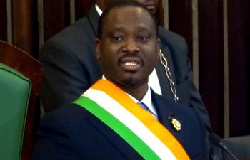 """Assemblée nationale ivoirienne: Guillaume Soro annonce """"officiellement sa candidature pour un 2e mandat"""""""