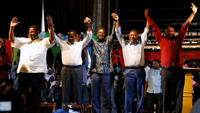 Kenya: l'opposition forme une grande alliance en vue de la présidentielle