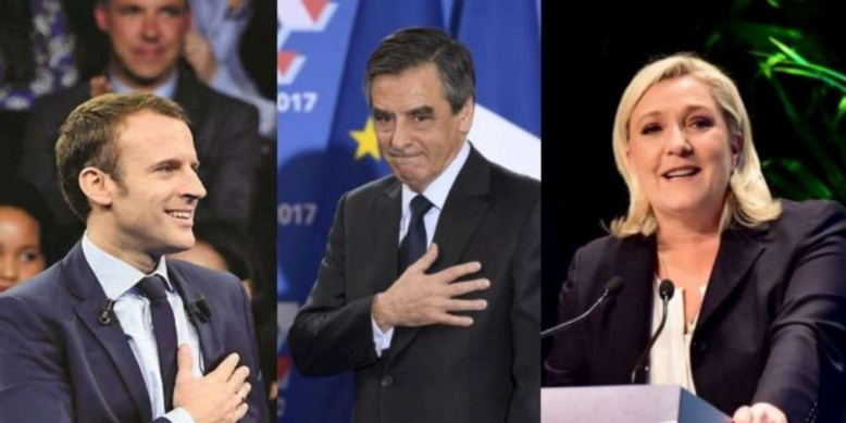  Sondage présidentielle 2017 : Le Pen et Fillon en tête, Macron troisième