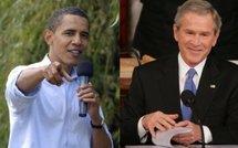 Bush promet à Obama une transition en douceur