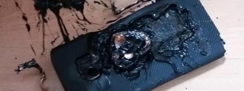 Le Galaxy Note 7 prenait bien feu à cause de sa batterie