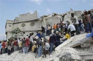 L'effondrement d'une école en Haïti fait 75 morts