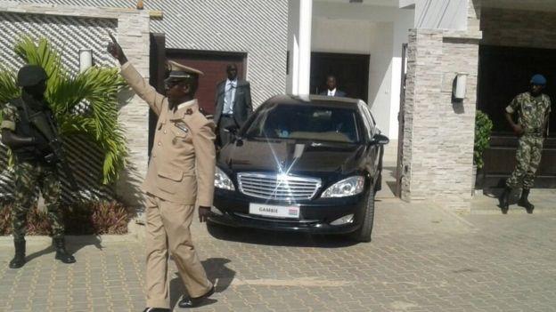 Adama Barrow met fin à son exil au Sénégal — Gambie