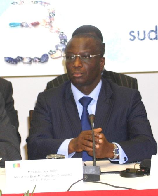 Abdoulaye diop  , Ministre de l'Économie et des finances ( Sénégal ) © Photo : pressafrik.com