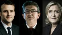 Le Pen, Mélenchon et Macron donnent le top départ de la présidentielle à Lyon