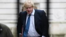 Boris Johnson en Gambie