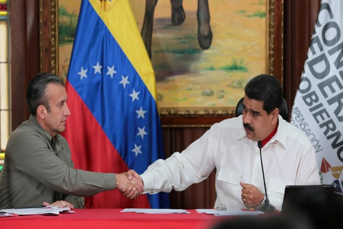 Sanctions américaines contre le numéro 2 du Venezuela, une «infamie» pour Maduro