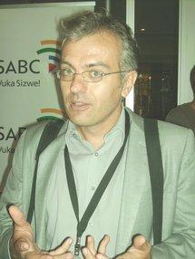 Philippes Couve, producteur de l'Atelier des médias sur Rfi