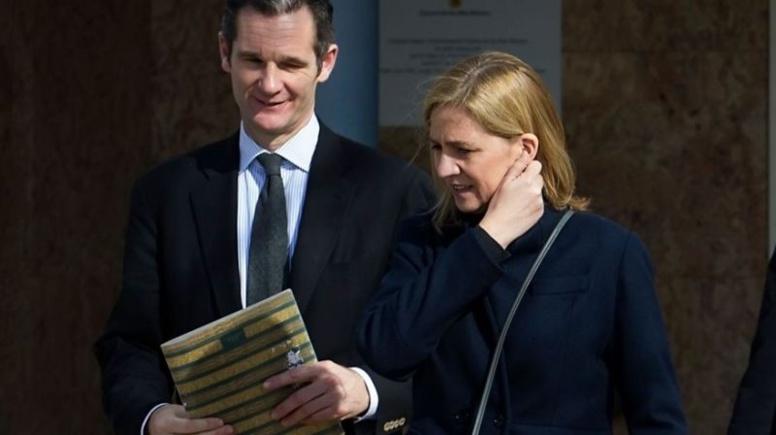 Le beau-frère du roi d'Espagne condamné à six ans de prison