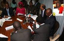 Les autorités de la Banque mondiale à la publication du rapport doing business 2009