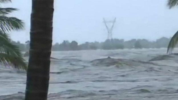 Un cyclone ravage le Mozambique
