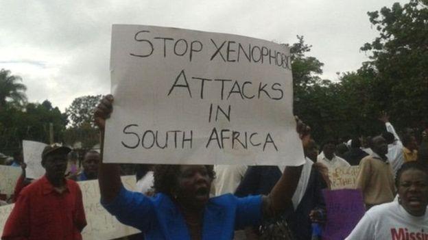 Af Sud : attaques contre des migrants africains