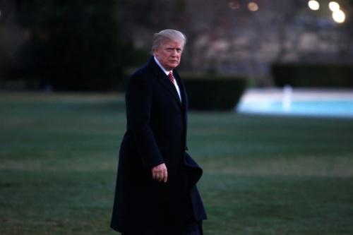 Trump signerait ce lundi un nouveau décret sur l'immigration