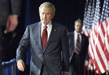 Irak : George Bush reconnaît des erreurs