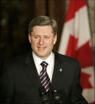 Premier ministre Canadien, Stephen-Harper