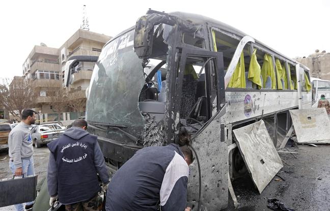 Syrie: Un double attentat à Damas fait au moins 46 morts