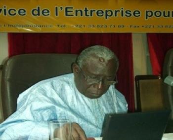 Le professeur Mamadou Moustapha Kassé