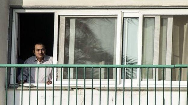 Egypte: l'ancien président Hosni Moubarak libéré