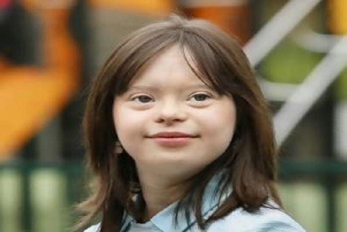 Mélanie, jeune trisomique, présente la météo: record d'audience