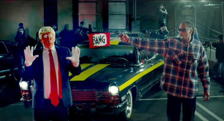 Tollé aux USA: Snoop Dogg tue Donald Trump dans son clip