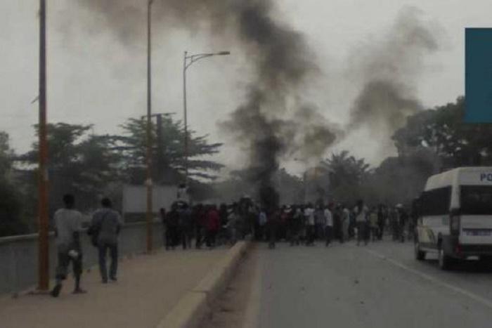 Reprise des échauffourées à Kolda: des manifestants et un officier de police blessés