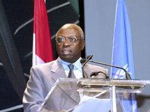 Jacques Diouf, Directeur Général de la FAO