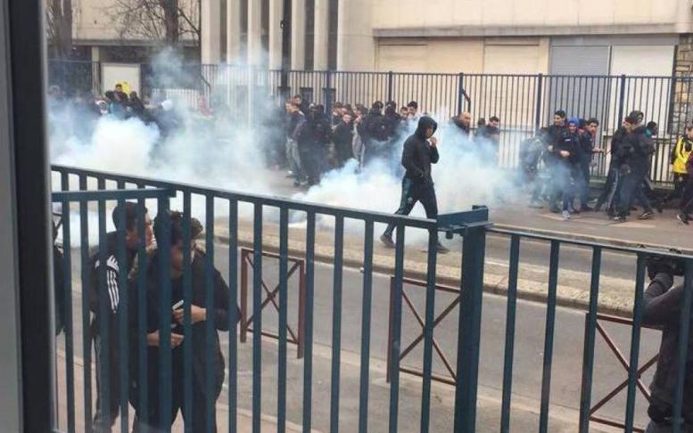 Val-de-Marne: 11 interpellations après les échauffourées devant les lycées de Cachan