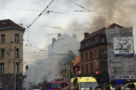 Une explosion à Saint-Gilles fait au moins deux blessés (vidéo)
