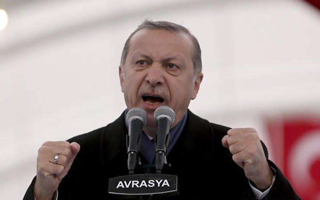 Pour Erdogan, l'UE «rouvrirait les chambres à gaz si elle en avait la possibilité»