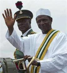 Le président de la République du Nigéria, Umaru Yar'Adua