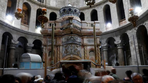 La restauration du tombeau du Christ à Jérusalem est désormais terminée