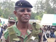 Général Philippe Mangou, chef d'état major des Armées de la Cote d'ivoire