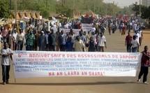 Marche des journalistes Burkinabé au 8e anniversaire de l'assassinat de Norbert Zongo