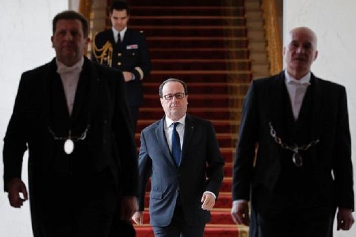 François Hollande « condamne avec la plus grande fermeté les allégations mensongères » de François Fillon